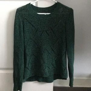 Open knit long sleeve, sz L